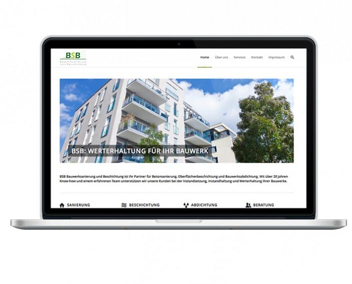 Webservice Plau - neuer Webauftritt für BSB-Bauwerksanierung