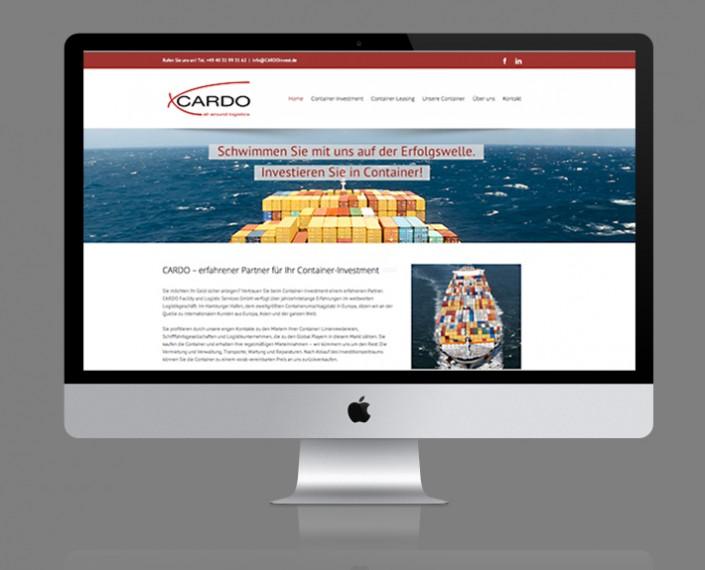 Webservice Plau hat die Website für CARDO Facility and Logistic Services GmbH in Hamburg auf Basis von Wordpress umgesetzt.