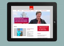Webservice Plau hat die Website für die Kandidatin Anke Pohla anlässlich der Bürgermeister-Wahl in Plau am See auf Basis von Wordpress umgesetzt.